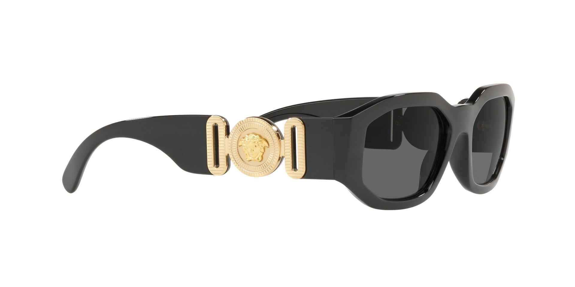 versace big black sunglasses
