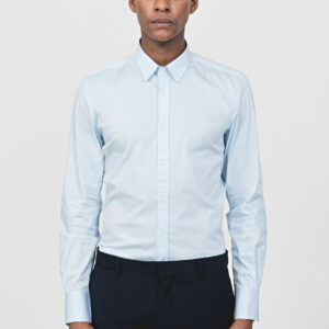 Antony Morato Sky Blue Long Sleeved Slim Fit Shirt