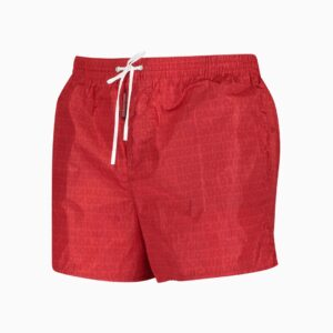 Dsquared 2 Red Logo Swim Shorts